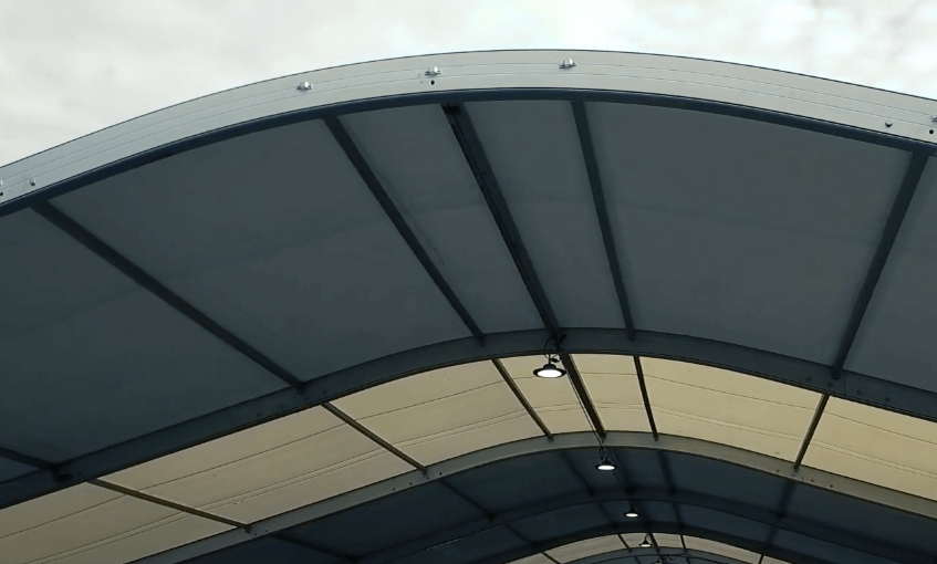 estructura para lona. estructura metalica