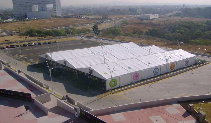 carpa gigante expo, renta carpas